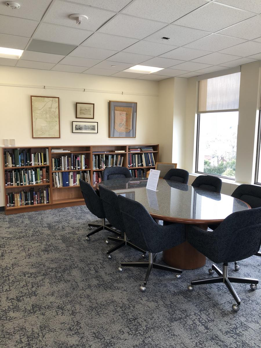 New Reading Room at the Chevy Chase Historical Society